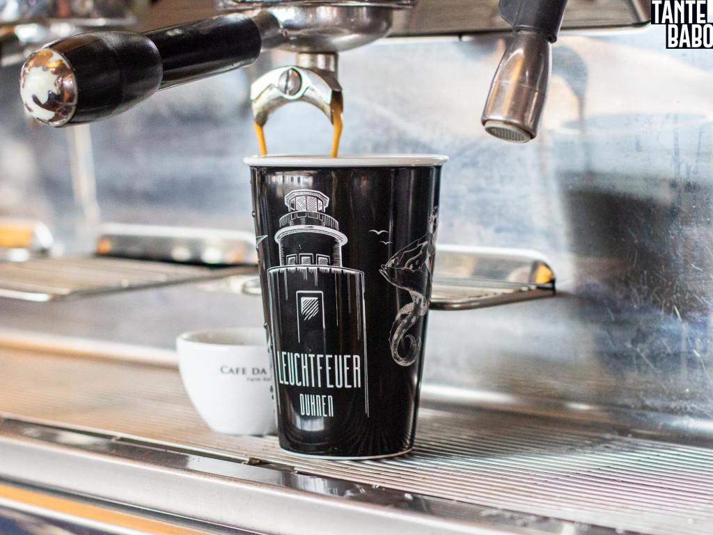 Galerie Kaffee Industrial Style Essen im Leuchtfeuer