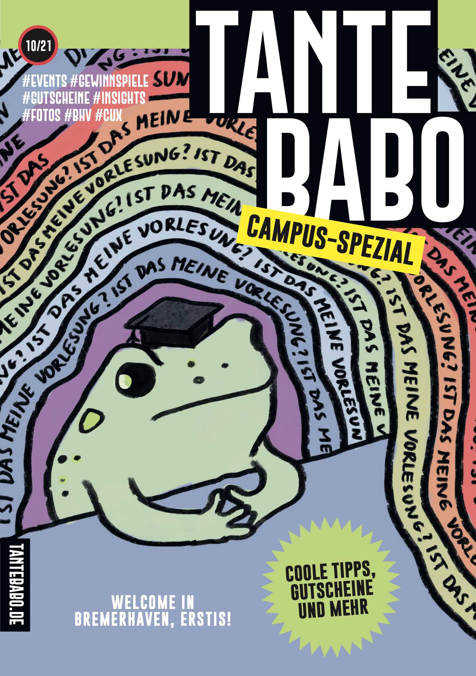 TANTE BABO Campus Special Cover